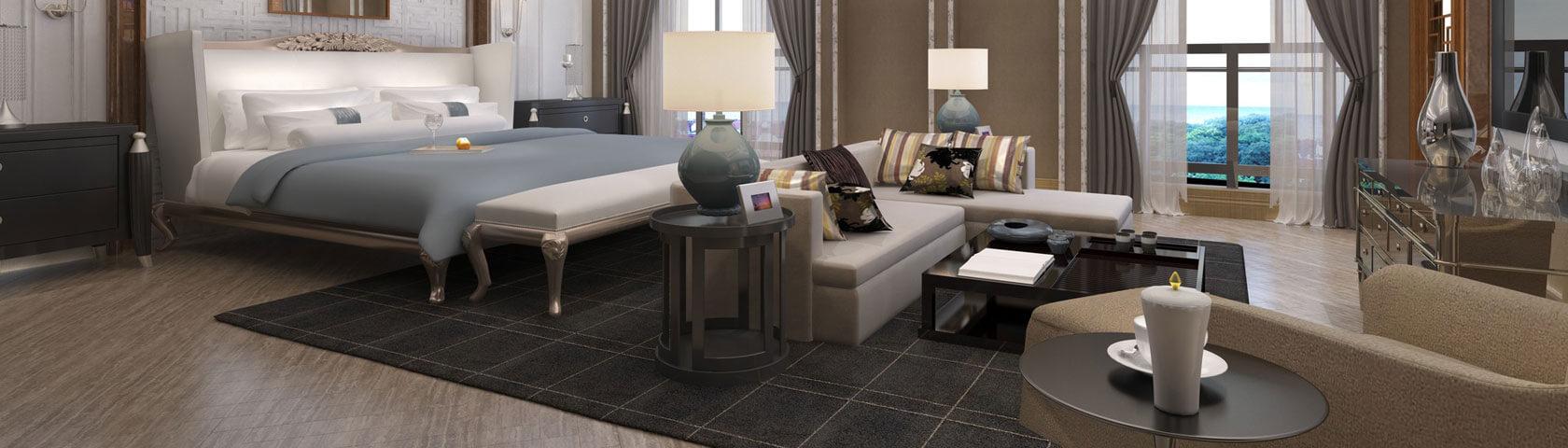 Luxurious Modern Bedroom Setup